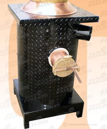 Θέρμανση Σιδηροκατασκευής με Μόνωση