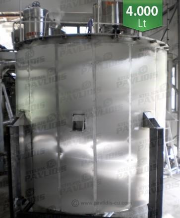 Βιομηχανικός Aποστακτήρας Αιθέριων έλαιων για ΤΡΙΑΝΤΑΦΥΛΛΑ SO-4.000 lt