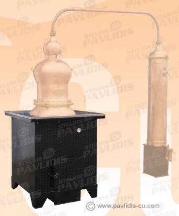 Θέρμανση με Φούρνο Ξύλου – Προπανίου – Πετρελαίου με Πυροτσιμεντα και Μόνωση