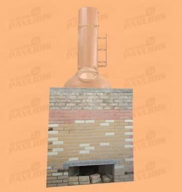 Θέρμανση Χτιστή με Προπάνιο - Ξύλο ή Πετρέλαιο
