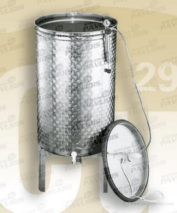 Δεξαμενές INOX 30lt - 150lt