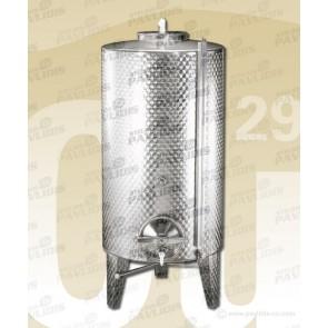 Δεξαμενές INOX 200lt - 1000lt