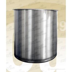 Κουβάς INOX στρόγγυλος