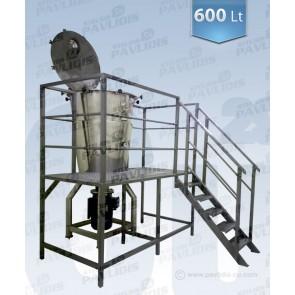 Αναμεικτήρας (mixer) 600 lt