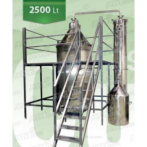 Βιομηχανικός Αποστακτήρας Αιθέριων έλαιων SO-2.500lt